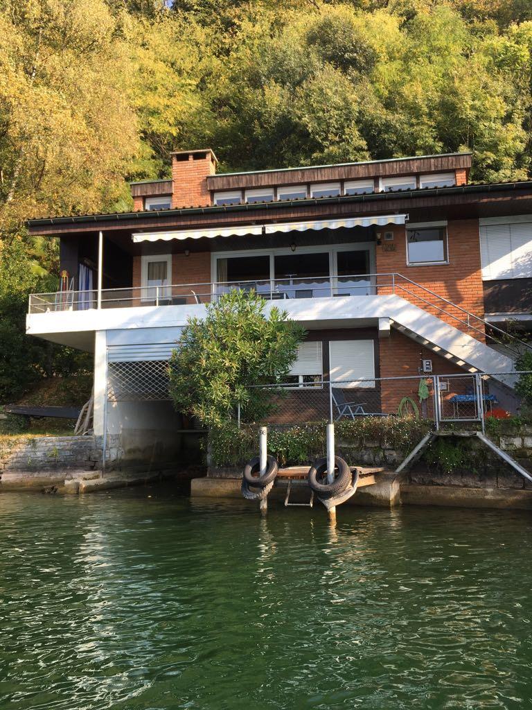 My house somaini for Piani di casa sul lago per lotti ripidi